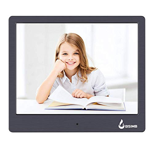 Digital Picture Frame Digital Photo Frame 8 inch LED Display 1024x768(4:3) Hi-Res Digital Photo & HD Video Frame and USB/SD Card Playback Infrared Remote Control M12