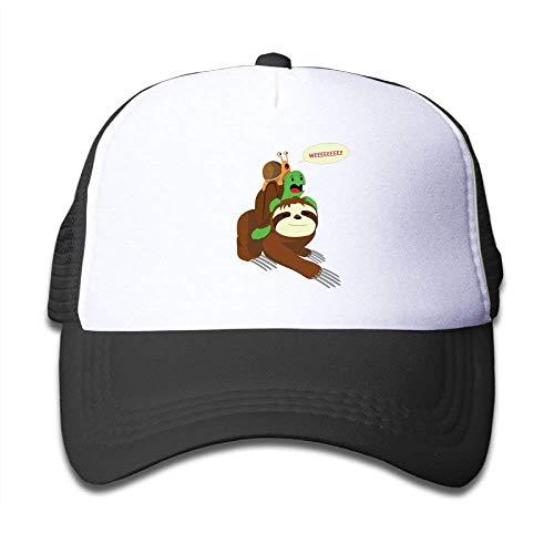Caps Sale Wee Snail Turtle Sloth Toddler Cartoon