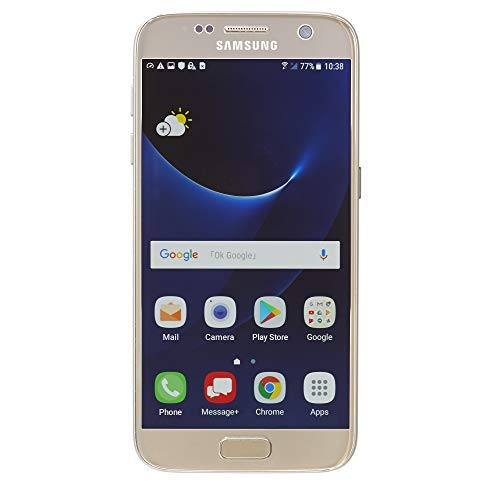 Samsung Galaxy S7 G930V 32GB, Verizon, Gold Platinum, Unlocked Smartphones (Renewed) (Iphone 5 Without Contract Att)