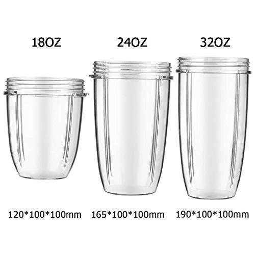 Juicer 18/24/32Oz Juice Extractor Cup Blender Juice Parts Juicer Replacement Cup For Mug Cup 600W/900W