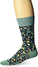 Men's Dipped Dots Sock Green