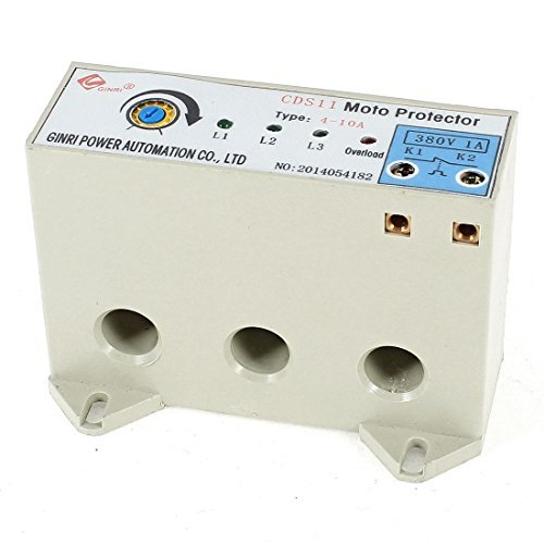 CDS-11 3 Phase 4-10 Ampere Adjustable Current Motor Circuit Protector