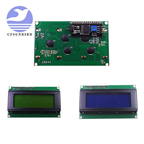 10PCS LCD2004+I2C 2004 20x4 2004A Blue/Green Screen HD44780 Character LCD/w IIC/I2C Serial Interface Adapter Module for - Chroma Blue Key Paint