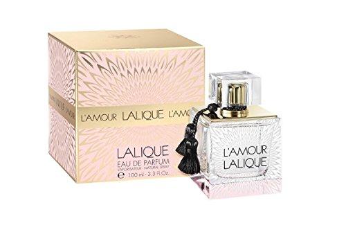 Lalique L'Amour Eau de Parfum, 3.3 Fluid Ounce