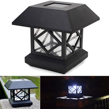 Led Pillar Lamp - Led Pillar Lamps Outdoor - 1.2V Garden Lawn Solar White LED Pillar Lamp Outdoor Cottage Courtyard Fence ( Solar Pillar Lamp ) Cottage Fence