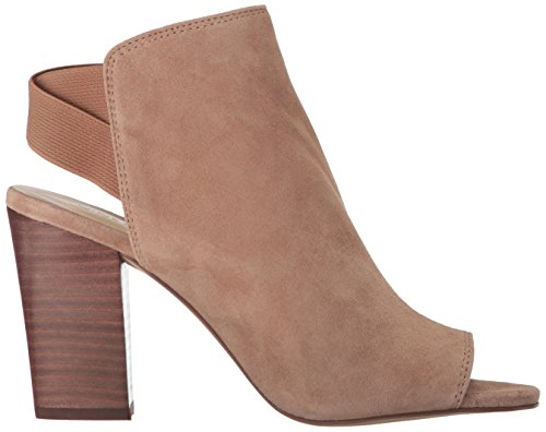 Nine West Women's Zofee Suede Ankle Boot Natural 3VyTNA