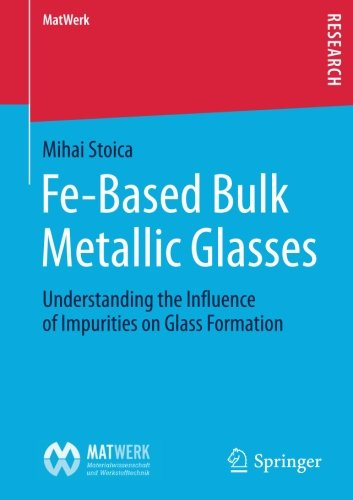 Fe-Based Bulk Metallic Glasses: Understanding the Influence of Impurities on Glass Formation (MatWerk)