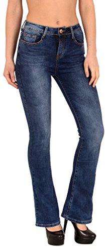 femme taille basse BB Jean Cut Jean bootcut Boot Typ tex j287 pantalon by EnfqxXUBYf