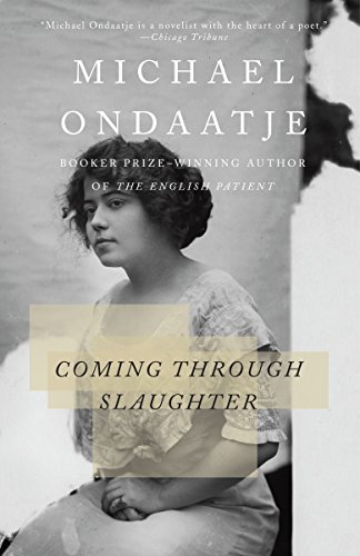 Book cover from Coming Through Slaughter by Michael Ondaatje