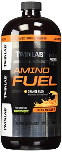 (TwinLab 1156 Amino Fuel Liquid, Orange Rush, 32 fl oz)
