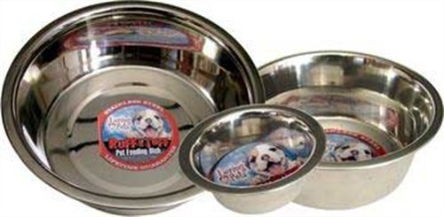Loving Pets Standard Stainless Dish Dog Bowl, 5-Quart, My Pet Supplies