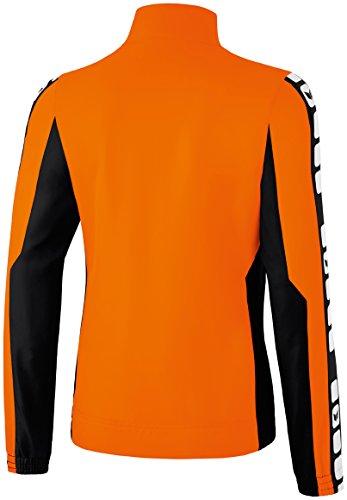 Mujeres Erima 5-CUBOS Prsentationsjacke 5-CUBOS Serie naranja / negro / blanco, Opciones Tamaño: 7 Hombres