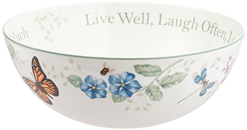 Lenox Butterfly Meadow Quot Live Well Laugh Often Love Much