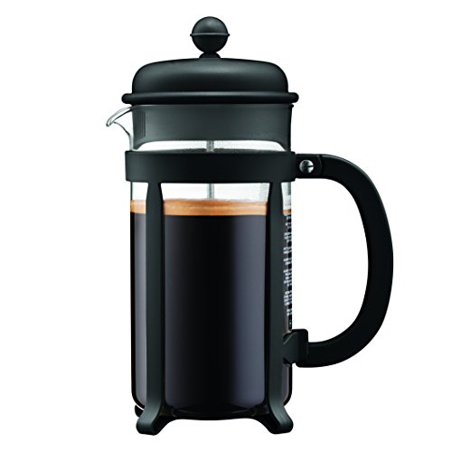 Bodum 1908-01 8 cup Java French Press Coffee Maker, 34 oz, Black