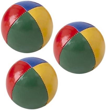 Lote de 3 pelotas para malabares en grano, diámetro: 55 mm, 71 ...