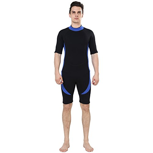 DEHAI Men Women's Thermal Wetsuits Full Suit Sleeves 3mm Neoprene Youth Adult's Diving Swimming Snorkeling Surfing Scuba Jumpsuit Warm Swimwear