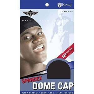 Price comparison product image King. J Spandex Dome Cap - Black