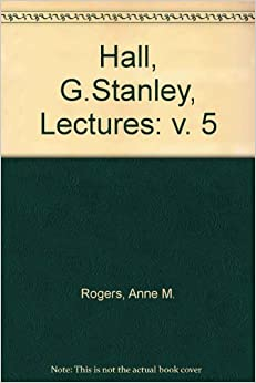 Book G. Stanley Hall Lecture Series