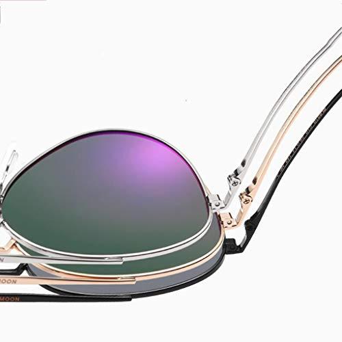 Lunettes Conduite Soleil Anti enduites Miroir extérieures D Les éblouissement HQCC Couleur UV de Femmes de de pour Anti f7dqxnBw