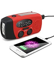 JYC Vintage Radio - FM Radio with Old Fashioned Style,Strong Bass,Loud Volume with 3 LED Flashlight As a Phone Power Bank