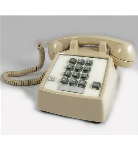 Itt Desk - Cortelco 250044-VBA-27F Desk w/ Flash/Message Ash ITT-2500-27F