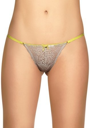 Laura Womens Adjustable Thong See Through Lace 103146BE Arena L