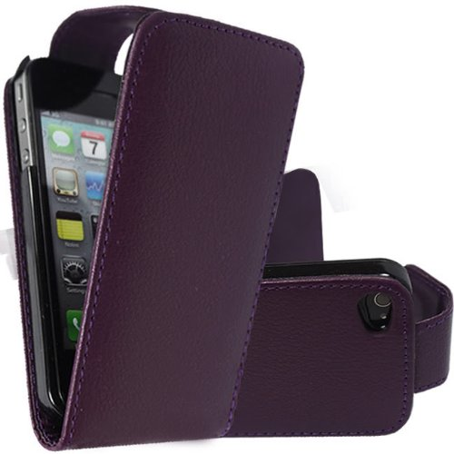 Best Style Apple iPhone 6 Premium Purple Flip Premium PU Leather Case Cover For Apple iPhone 6 by G4GADGET®