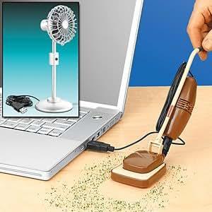 PC POWERED PERSONALITY USB DESK VAC