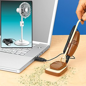 Amazon Com Pc Powered Personality Usb Desk Vac Computers Accessories