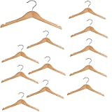 Richards Homewares Imperial/Juvenile Shirt/Coat Hanger Set/6 Wood Children's (Set of 6)