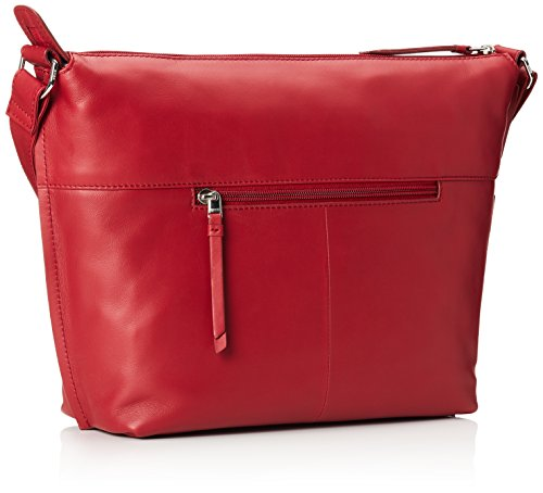 Red 160 2 Red Shoulder Toulouse cm 0 Brick Leather Bag Bree 32 TwvzqCC