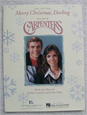 amazoncom merry christmas darling for voice piano guitar recorded by carpenters frank pooler richard carpenter books