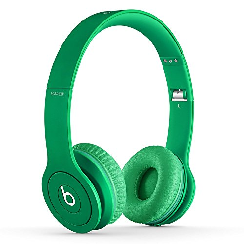 Beats Solo HD Wired On-Ear Headphone - Matte Green (Discontinued by Manufacturer) (Renewed)