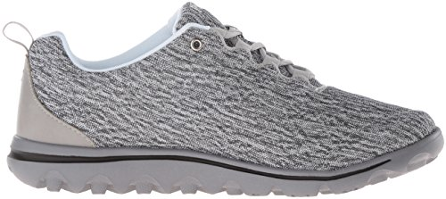 TravelActiv Fashion Women White Black Heather Sneaker Propet fqF5Hnwq