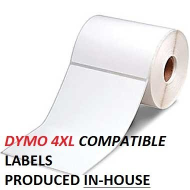 dymo 1744907 compatible labels 20 rolls 4 x 6 thermal shipping postage label for