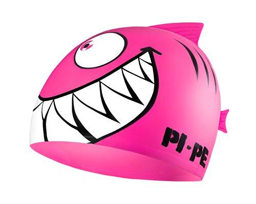 PI-PE Kinder Badekappe Sharky, Pink, One Size, PBS-1-P