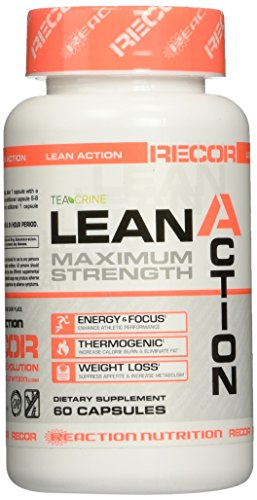 Reaction Nutrition Recor Lean Action Maximum Strength, 60 Count