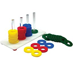 Zoo-Max Rings Game Medium Bird Toy