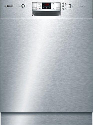 Bosch SMU57L15EU Serie 6 Unterbaugeschirrspüler / A+ A / 13 Maßgedecke / 48 db / Edelstahl / Kindersicherung / VarioSpeed / 59.8 cm
