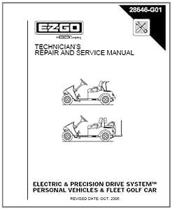 Amazon.com : EZGO 28646G01 2001-2009 Repair Manual for ...