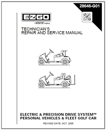 Amazon ezgo 28646g01 2001 2009 repair manual for electric ezgo 28646g01 2001 2009 repair manual for electricpds txt fleetfreedom cheapraybanclubmaster Images