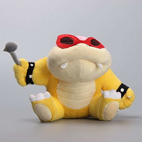 Super Mario Bros Roy Koopa Koopaling 6 Inch Toddler Stuffed Plush Kids - Sunglasses Hedgehog The Sonic