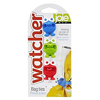 MSC International 49505 Joie Bag Watcher Ties Silicone, BPA Free, FDA Approved, natural