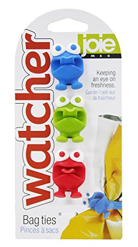 MSC International Joie Watchers Silicone Storage, Cable and Bag Ties, Set of 3