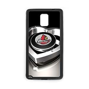 Fashion Generic Custom Best Design NCAA Louisville Cardinals Case Cover for SamSung Galaxy Note 4 NCAA Louisville Cardinals SamSung Galaxy Note 4 case Ncaa phone case vazza