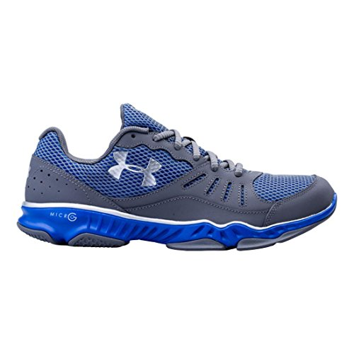 Under Armour Mens Micro G Pulse TR II, Graphite/Silver, 7 D (Pulse Ii Running Shoes)