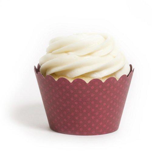Dress My Cupcake Standard Burgundy