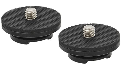 Movo MB1000CH Replacement Camera Hubs/Mounts for the MB1000, MB700 & MB200 Camera Carrying Vest (2 Pack)