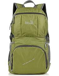 Outlander Big Packable Handy Lightweight Travel Backpack Daypack-Green