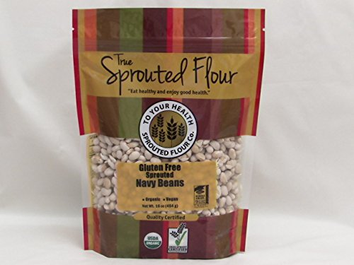 5 lb. Organic Sprouted Navy Beans